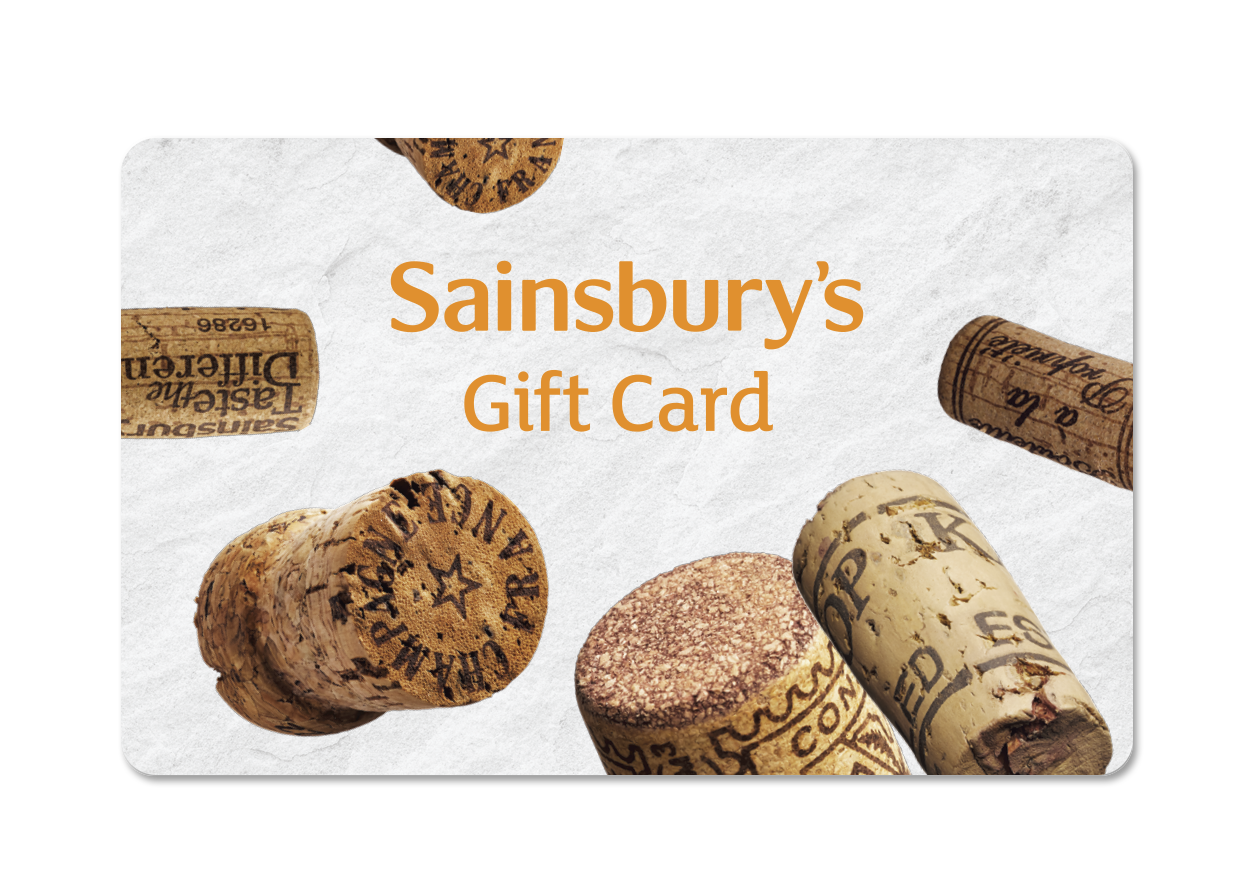 Corks Gift Card Cover