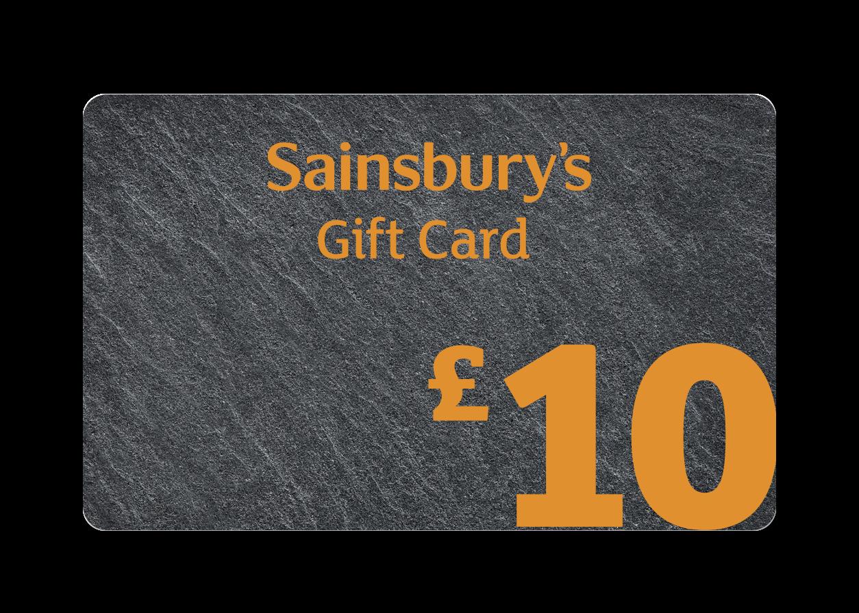£10 Slate Gift Card Cover