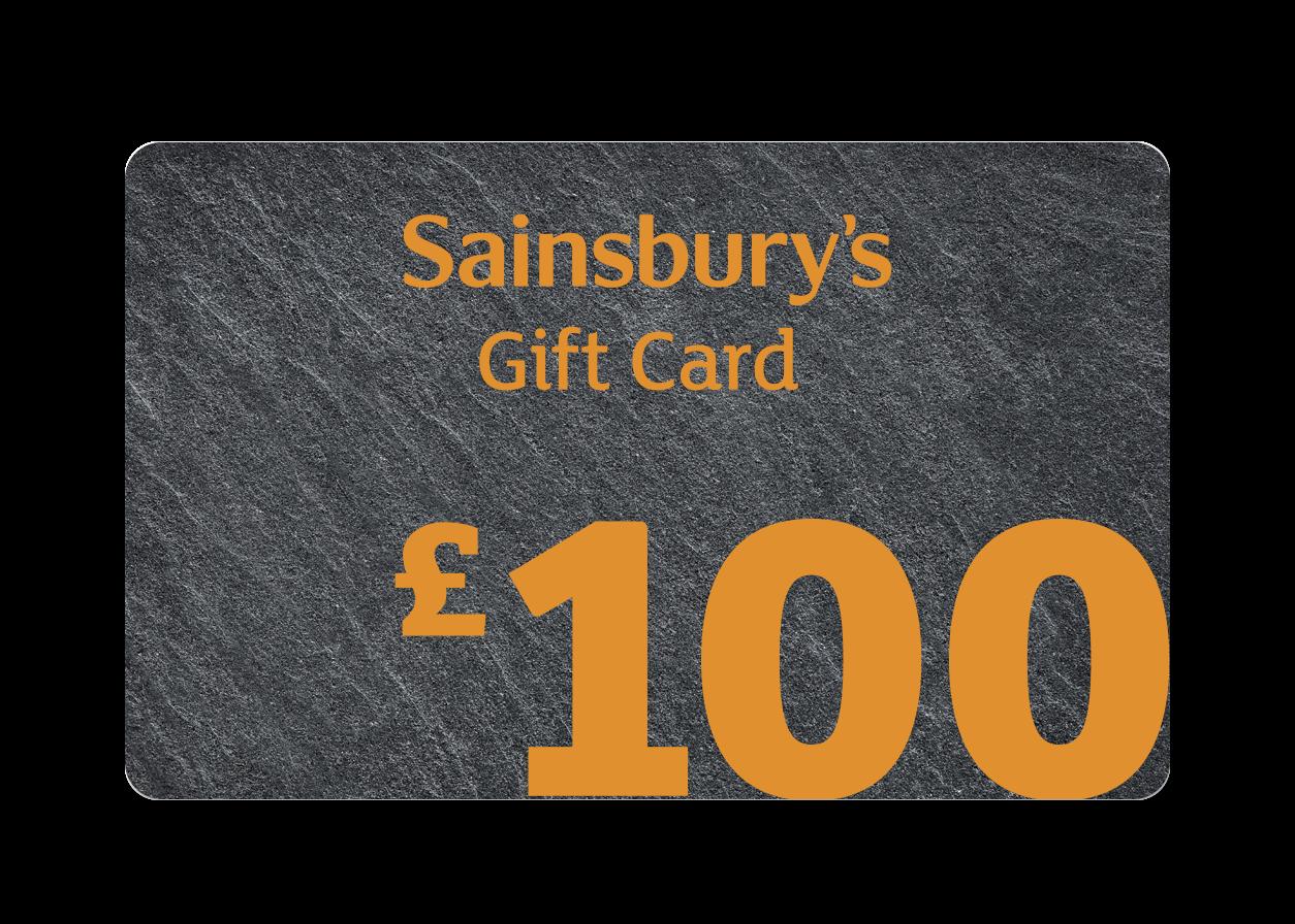 £100 Slate Gift Card Cover