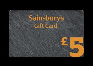 £5 Slate Gift Card
