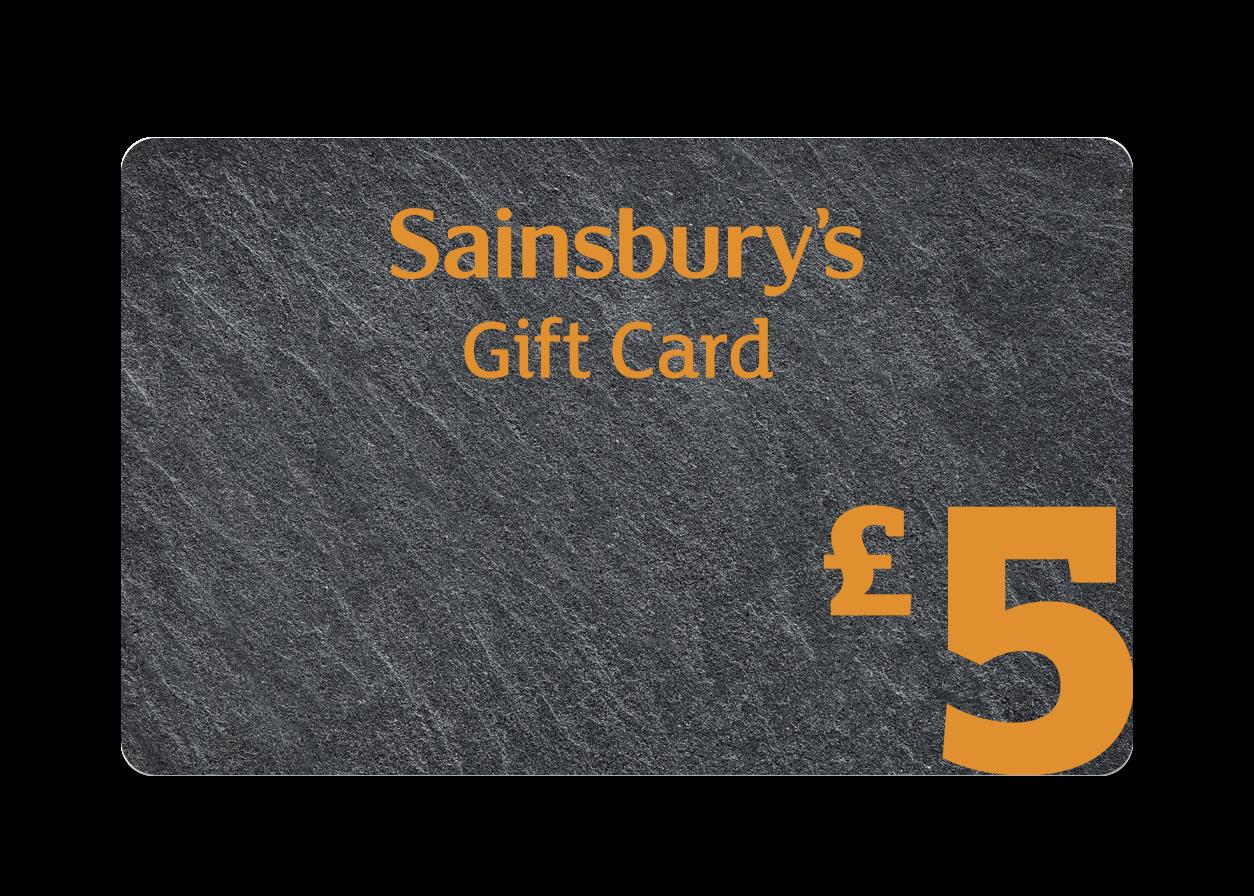 £5 Slate Gift Card Cover